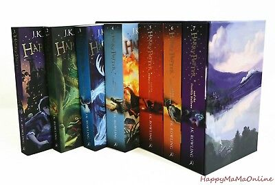 AU69.99 • Buy Harry Potter 7 Books Complete Collection Paperback Boxed Set Children Edition
