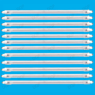 12x 400W Halogen Heater Replacement Tube 195mm Fire Bar Heater Lamp Element Bulb • 14.48£