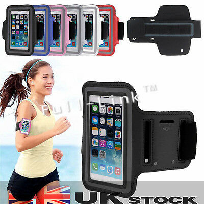 New Sports Running Jogging Gym Armband Arm Band Case Cover Holder IPhone 5 6plus • 1.89£