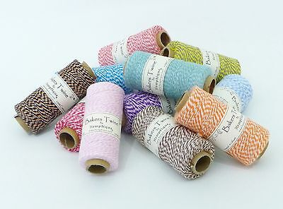 £1.95 • Buy Bakers Twine 5m 10m 20m - 1mm Craft String / Cord For Packaging, Gift Wrap, Tags