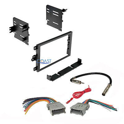 $16.95 • Buy Car Stereo Double Din Dash Kit Harness Antenna For 1992-up Chevy GMC Pontiac