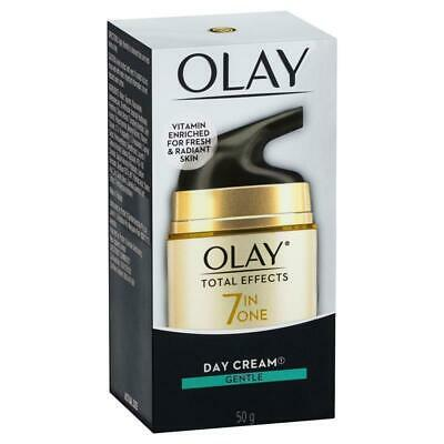 AU20.99 • Buy Olay Total Effects 7 In One Day Face Cream Gentle 50g