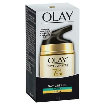 AU20.99 • Buy Olay Total Effects 7 In One Day Face Cream Gentle SPF 15 50g
