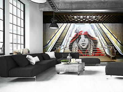 £60.01 • Buy Graffiti In The Metro Wall Mural Photo Wallpaper GIANT WALL DECOR PAPER POSTER