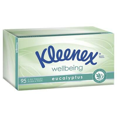 AU1.99 • Buy Kleenex Facial Tissues Eucalyptus 3 Ply 95