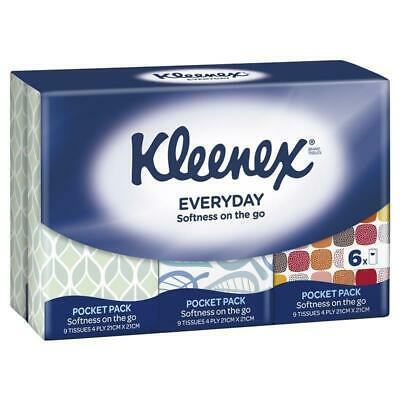 AU2.49 • Buy Kleenex Pocket Pack Tissues 6 Pack