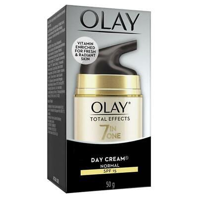 AU20.99 • Buy Olay Total Effects 7 In One Day Face Cream Normal SPF 15 50g