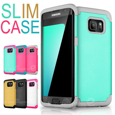 $ CDN6.30 • Buy Shockproof Rugged Hybrid Rubber Hard Cover Case For Samsung Galaxy S7 & S7 Edge