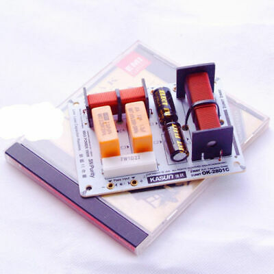 $ CDN12.01 • Buy New Multi Speaker 2 Unit Audio Frequency Divider 2 Way Crossover Filters OK2801