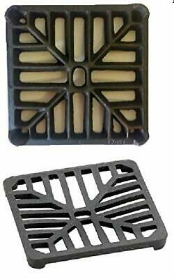 £9.15 • Buy Square 6  (150mm) Cast Iron Thick Heavy Duty Gully Grid Grate Drain Cover Metal