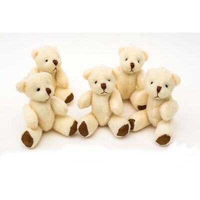 £3.95 • Buy NEW - White Teddy Bears - Small Cute And Cuddly  - Gift Present Birthday Xmas