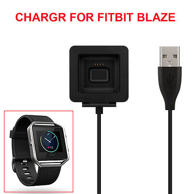$ CDN10.47 • Buy USB Charging Cable Cradle Dock Charger Cord For Fitbit Blaze Smart Watch