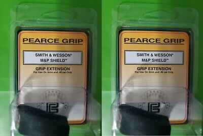 $16.75 • Buy Lot Of 2 Pearce Grip S&W M&P Shield & Shield 2.0 9mm/40S&W Grip Extension PG-MPS