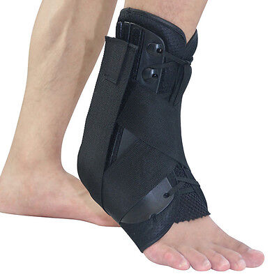 Lace Up Ankle Support Brace Stabiliser Achilles Tendon Injury Sports Football  • 11.99£