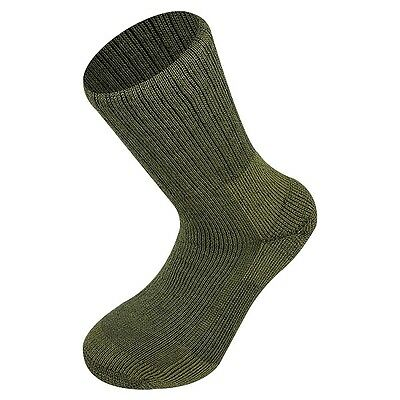 Norwegian Army Sock In Olive Green - Military, Walking, Outdoor By Highlander • 10.99£
