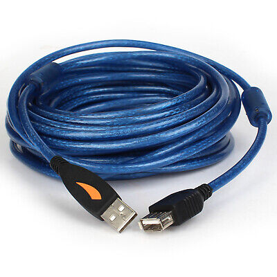 AU7.02 • Buy 2M 3M 10M Super High Speed USB 2.0 Extension Cable Cord Type A Male Female AMAF