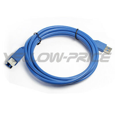 AU6.63 • Buy 3M Super High Speed USB 3.0 Cable AMBM Cord For HP Brogher Printer Scanner 1M 2M
