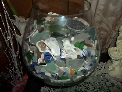 Beach Glass Lake Erie Ohio 60 Pieces For Jewelry, Crafts Shells/pottery To • 7.77$