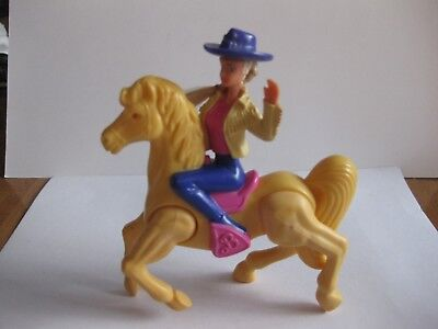 £4.30 • Buy Vintage Barbie Riding On A Horse Figurine
