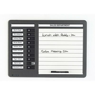 £144 • Buy Indesign Drywipe Staff In/out Name Boards In 10 Or 20 Names **great Prices**