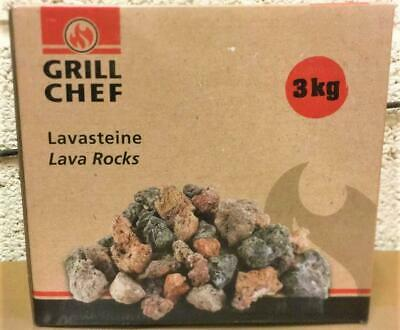£11.72 • Buy QUALITY Landmann Lavasteine Lava Rock For Gas Barbecues BBQ Camping 3KG A4E HER