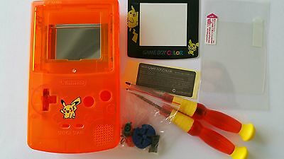 Phonecaseonline Carcasa Gameboy Color Mario Clear Orange New Faceplates, Decals & Stickers It Video Game Accessories