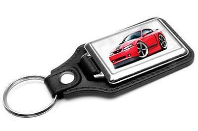$12 • Buy 2003-04 Ford Mustang Mach 1 Car-toon Key Chain Ring Fob NEW