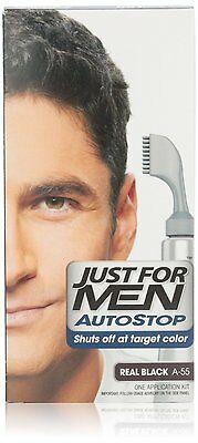 £44.23 • Buy Just For Men Autostop Hair Color, Real Black A-55 (Pack Of 6)