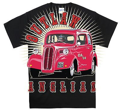 £14.99 • Buy Classic Ford Pop Outlaw Anglia T-Shirt Official Ltd Ed Hot Rod Clothing.