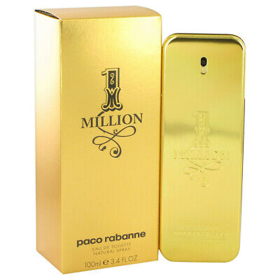$ CDN81.06 • Buy 1 Million By Paco Rabanne 3.4 Oz 100 Ml EDT Cologne Spray For Men New In Box
