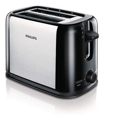 £72.60 • Buy Philips HD2586 Toaster 870W POP-UP 7 Steps Controlled Burning 200-240V