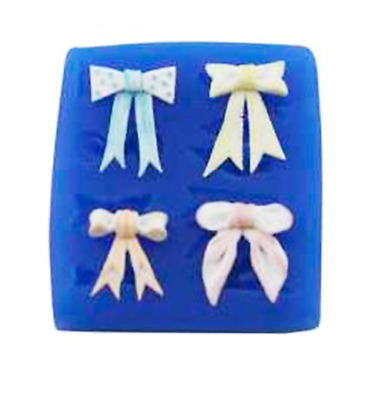 Bow Set 8 - BW132 FIRST IMPRESSIONS MOLDS - Silicone Moulds • 6.93£