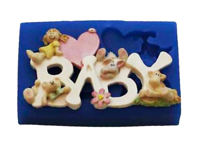 Baby Girl - B225 FIRST IMPRESSIONS MOLDS - Silicone Moulds • 20.79£