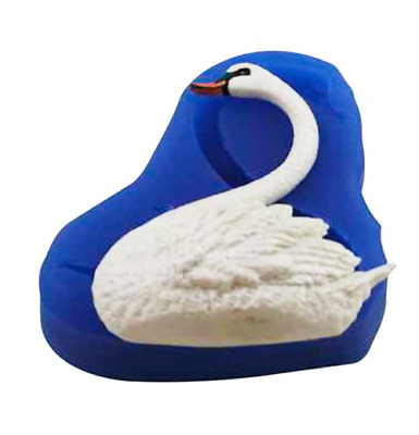 £15.90 • Buy Left Facing Swan - A275 FIRST IMPRESSIONS MOLDS - Silicone Moulds