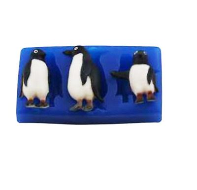 Penguins - A211 FIRST IMPRESSIONS MOLDS - Silicone Moulds • 9.70£