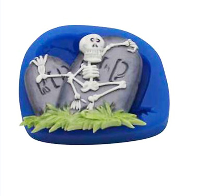 Skeleton & Tombstone - SE307 FIRST IMPRESSIONS MOLDS - Silicone Moulds • 9.70£