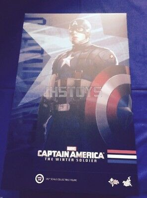 $ CDN661.13 • Buy New Hot Toys 1/6 Captain America Winter Soldier Golden Age Promo MMS240 Japan