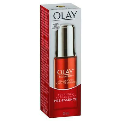 AU19.99 • Buy Olay Regenerist Advanced Anti-Ageing Miracle Boost Youth Pre-Essence Serum 40mL