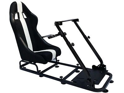 Simulator ChairRacing Seat Driving Gaming Chair Xbox Playstation PC F1 PS4 • 1,299£