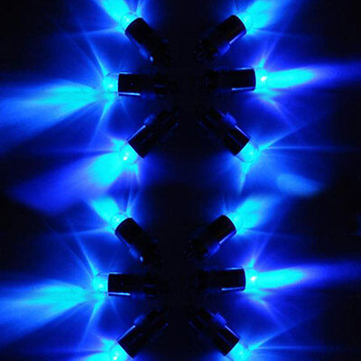 Waterproof Mini Blue Lights LED Fish Bowls Balloon For Wedding Party Decoration • 57.99£
