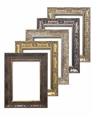 £28.01 • Buy WIDE Ornate Shabby Chic Antique Swept Picture Photo Frame Gold /SILVER  /MUSE