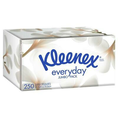 AU2.99 • Buy Kleenex Facial Tissues 250 Jumbo White