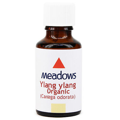 Organic Ylang Ylang Complete Essential Oil (Meadows Aroma) 50ml • 27£