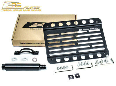 $45.50 • Buy EOS Plate For 02-07 Subaru WRX & STI Front Bumper Tow Hook License Mount Bracket