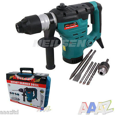 View Details Heavy Duty 1200w Rotary Sds Hammer Drill 240v Quality Corded Drill • 57.50£