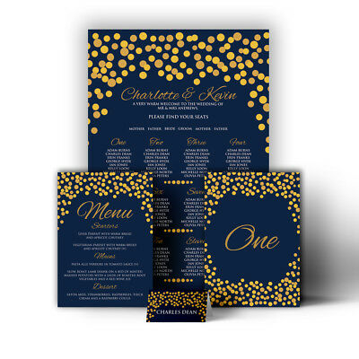 £32.99 • Buy Lights Lanterns Magical Wedding Table Seating Plan Chart Place Cards Menu Canvas