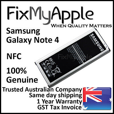 AU22.45 • Buy Samsung Galaxy Note 4 Original Genuine N910 N910G Li-ion Battery 3220 MAh New