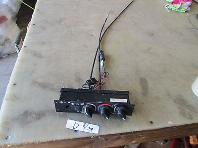 $35 • Buy Used? Red Dot Air Conditioning Control Panel, Missing Parts, Military Vehicle HM