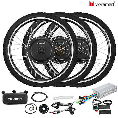 $196.99 • Buy Voilamart  Electric Bicycle E-Bike 26  Front Rear Wheel Motor Conversion Kit