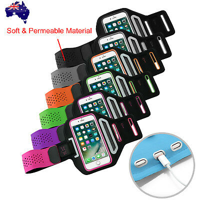 AU10.95 • Buy Sports Gym Running Arm Band For Apple IPhone 13 12 Mini 11 Pro XS Max X Armband